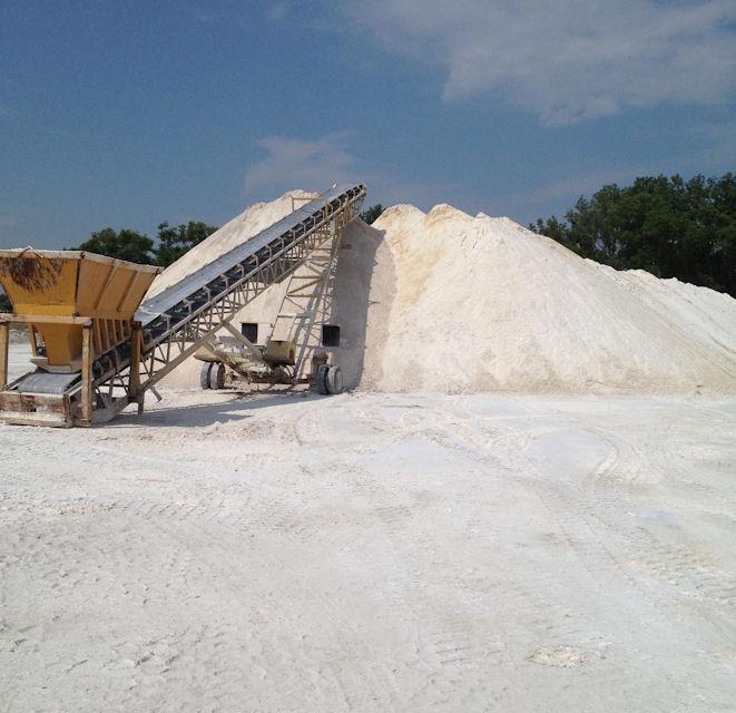 Pile of Gypsum